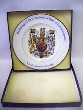 Princess Diana Royal Marriage 1981 collectors Plate Wood & Sons - BOXED