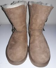 Brand New UGG Australia Women's Azalea Boots Size 11 NIB Chestnut