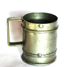 Very rare antique Spanish Naval daily Rum Ration Mug navy H.Mayordomo Madrid