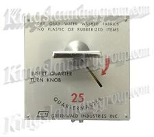 GREENWALD 120V Square Face Coin Meter for DRYERS  A B SWITCH 59-3200-15-1