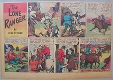 Lone Ranger Sunday Page by Fran Striker and Charles Flanders from 4/21/1940