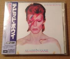 David Bowie - Aladdin Sane Japanese Cd +OBI Strip +Lyric Booklet Very Rare!!
