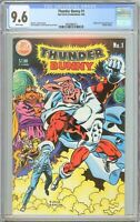 Thunder Bunny #1 CGC 9.6 White Pages (1984) 3693686014