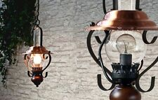 LED Hängeleuchte im Petrostil rustikal Pendelleuchte Pendellampe Hängelampe