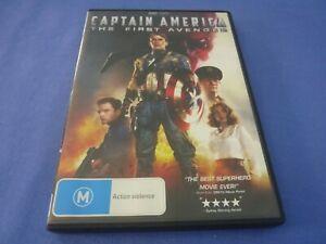 Captain America The First Avenger DVD Chris Evans Hugo Weaving R4 Free Postage