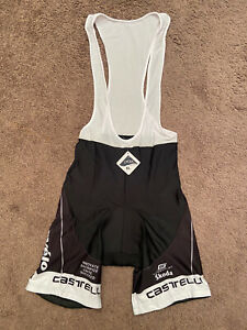 New Castelli Cervelo Race Bibs Cycling Shorts Size XL Triathlon Never worn