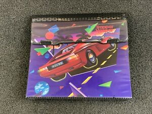 1990s Mead Trapper Keeper Notebook Designer Series Ferrari Red Sports Car