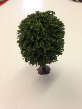 Javis JT14 - Green Small 80mm Oak Tree with Base - N Gauge + Tracked 48 Post