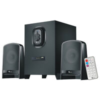 Bluetooth 2.1 Computer Subwoofer with 2 Speakers & Remote Control for Laptop VCD