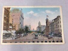 Pennsylvania Avenue Washington DC Vintage Hand Color Print Postcard Posted 1915