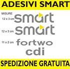 adesivi SMART fortwo forfour cdi sticker prespaziato tuning auto adesivo 24h