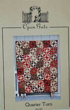 Quilt Pattern Quarter Turn by Open Gate