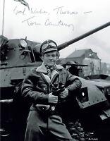 Tom Courtenay - original signiertes GROSSFOTO - signed Autogramm in Person