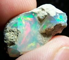 Ethiopian Opal Welo Rough * SEE VIDEO 7.78 CTs Bright 5/5 AAA Fire USA DEALER