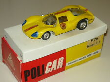 POLICAR FERRARI P3 AUTOMODELLO PISTA ELETTRICA MINT BOX SLOT CAR SCALA 1/32