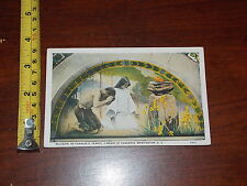 Postcard Rare Old Vintage Old Religion Pearce Library Of Congress Washington Dc
