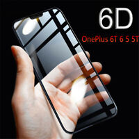 Clear 9H 6D Edge Curved Full Coverage Phone Screen Protector Tempered Glass