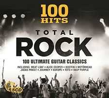 Various Artists - 100 Hits: Total Rock / Various [New CD] UK - Import