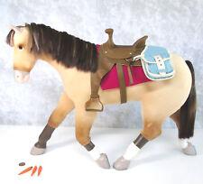 American Girl Doll NICKI'S HORSE JACKSON & SADDLE BAGS BLANKET CARROTS Buckskin!