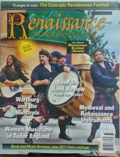 Renaissance Faires and Culture Vol 21 No 4 Issue 110 Medieval FREE SHIPPING sb