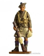 SOL053 PRIVATE LONDON SCOTTISH  Regt UK 1917 FIGURA SOLDADO PLOMO DEL PRADO