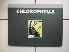 MACHEROT /  CHLOROPHYLLE   / PORTE FOLIO CHAMPAKA  /  NUM 199 EX SIGN MACHEROT