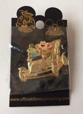 DLR - Golden Vehicle Collection - Mr. Toad's Wild Ride (Mr. Toad & Mole) pin NEW