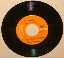 Dolly Parton Love is like a butterfly Sacred memories 45 RPM RCA PB-10031 EX