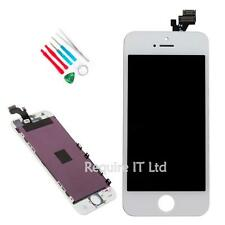 NEW WHITE SILVER 32GB APPLE IPHONE 5 5G REPLACEMENT TOUCH SCREEN DISPLAY TOOLS