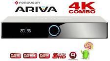 FERGUSON ARIVA 4K COMBO DVB-C SATELLITE BOX ULTRA HIGH DEFINITION UHD SMART