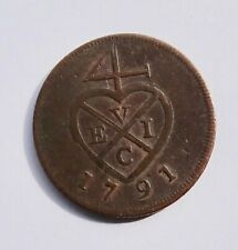 More details for 1791 india, bombay presidency, 1/2 pice coin
