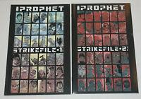Prophet Strikefile 1 & 2 IMAGE COMICS HTF COMPLETE SET BRAND NEW NM 9.4 Graham