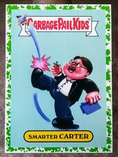 2016 GARBAGE PAIL KIDS PRIME SLIME TV GREEN BORDER INSERT #5B SMARTER CARTER