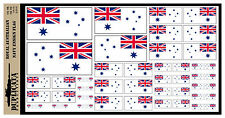 Diorama Accessory - Royal Australian Navy Ensign - 1/72, 1/48, 1/32, 1/35 Scales