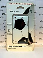 Soccer Trexta Sports Series Snap-On Leather Case for iPod Touch 4th Generation