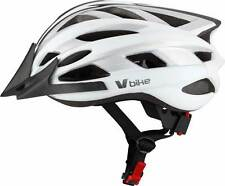 V BIKE Casco V Bike MTB 19 ventilaciones blanco/silver carbono semi in mould