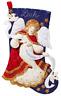 Bucilla 'Christmas Angel',  Christmas Felt Stocking Stitchery Kit, 86860