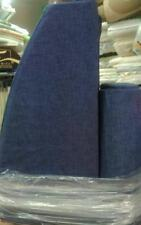 COMPLETO CUSCINI A MEZZALUNA PER LETTO SINGOLO tinta unita blu