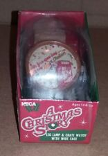 a Christmas Story Leg Lamp & Crate Watch Warner Brothers NECA