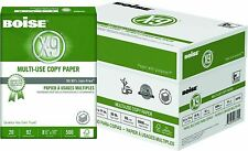 Case Copy Printer Printing Paper 8 1/2 x 11 Letter size - 10 reams 5000 sheets**