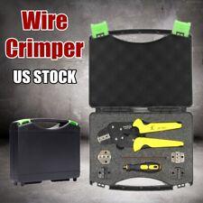 Paron Wire End Kit D1S8 Pliers Jx-Ds5 Crimping Cord Terminals Crimper Tool Us