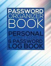 Password Organizer Book (Personal Internet Address & Password Log Book) by Speedy Publishing LLC (Paperback / softback, 2014)