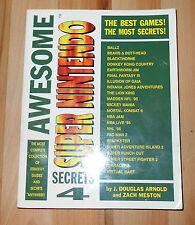 Génial Super Nintendo Secrets 4-Street Fighter-Blackthorne-Donkey Kong