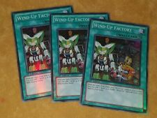 Wind-Up Factory - GENF-EN054 - Super Rare - 1st Edition X3 PLAYSET