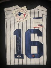 """Whitey Ford signed Jersey autographed Majestic Authentic MLB """"HOF 74"""" PSA/DNA"""