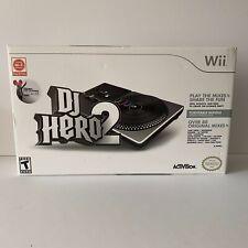 Wii-Nintendo Activision DJ Hero2-Turntable Bundle includes-Turntable Controller