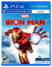 🔥Brand New PS4 Marvel's Iron Man VR 2020 PlayStation 4 PSVR video game fast