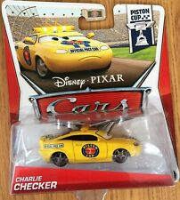 Disney Pixar Cars CHARLIE CHECKER Piston Cup 2013 12/18 Diecast Xmas NEW