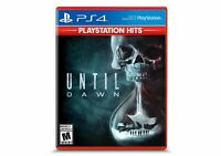 Until Dawn PlayStation Hits (Sony PlayStation 4 PS4) Brand New Factory Sealed