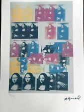 ANDY WARHOL - Litografia Edicion limitada 100 ejemplares. 57 x 38 cm